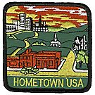 Hometown USA Emblem