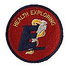 Health Exploring Emblem