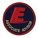 E Associate Advisor Emblem