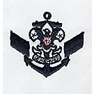 Sea Scout Assistant Crew Leader Emblem - White