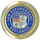 Law Enforcement Exploring Pin