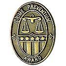 Crime Prevention Pin