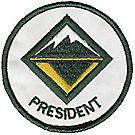 Venturing President Emblem