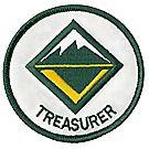 Venturing Crew Treasurer Emblem