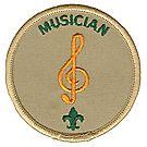 Musician Emblem