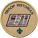 Troop Historian Emblem