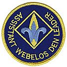 Assistant Webelos Leader Emblem