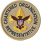 Chartered Organization Rep Emblem