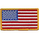 USA Flag Emblem