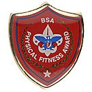 Physical Fitness Pin