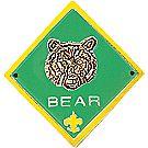 CS Bear Rank Staff Shield