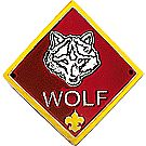 CS Wolf Rank Staff Shield