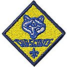Embroidered Cub Scout Pin