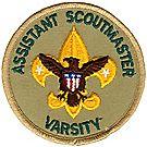 Assistant Scoutmaster Varsity Emblem