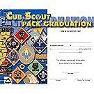 Cub Scout Pack Graduation Certificate