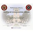 Master of Commissioner Science