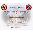 Bachelor of Commissioner Science Certificate