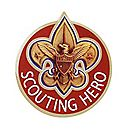 Scouting Hero Pin