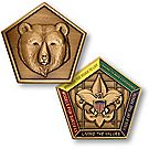 Wood Badge Bear Medallion Coin