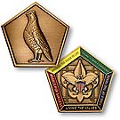 Wood Badge Bobwhite Medallion Coin