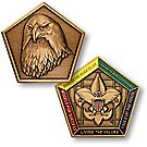 Wood Badge Eagle Medallion Coin