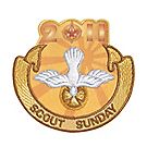 2011 Scout Sunday Embroidered Emblem