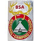 National Camping School Staff Medallion