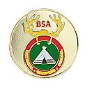 National Camping School Logo Coin