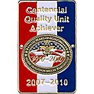 Centennial Quality Unit Achiever Hiking Staff Medallion