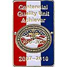 Centennial Quality Unit Achiever Hiking Staff Medallion