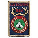 Cub Scouting National Camping School Emblem