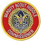 Varsity Scout Huddle Commissioner Emblem