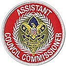 Assistant Council Commissioner Emblem
