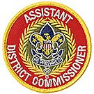 Assistant District Commissioner Emblem