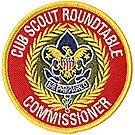 Cub Scout™ Roundtable Commissioner Emblem