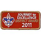 Journey to Excellence 2011 District Bronze Award
