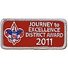 Journey to Excellence 2011 District Silver Award