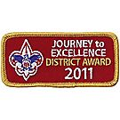 Journey to Excellence 2011 District Gold Award