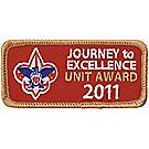 Journey to Excellence 2011 Unit Bronze Award