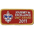 Journey to Excellence 2011 Unit Gold Award