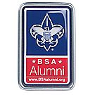 BSA® Alumni Metal-Framed Auto Decal