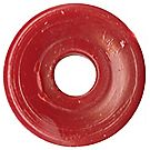 Red Disk Bead