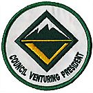 Venturing Council President Emblem