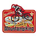 Summit Activity Mountain Biking Emblem