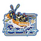 Summit Activity Whitewater Rafting Emblem