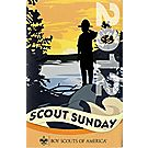 Scout Sunday Program Cover - 100/pack
