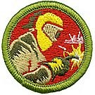 Welding Merit Badge Emblem