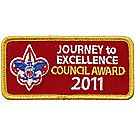 Journey to Excellence Council Award 2011 Emblem - Gold