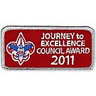 Journey to Excellence Council Award 2011 Emblem - Silver