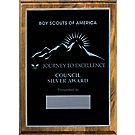Journey to Excellence Council Silver Plaque